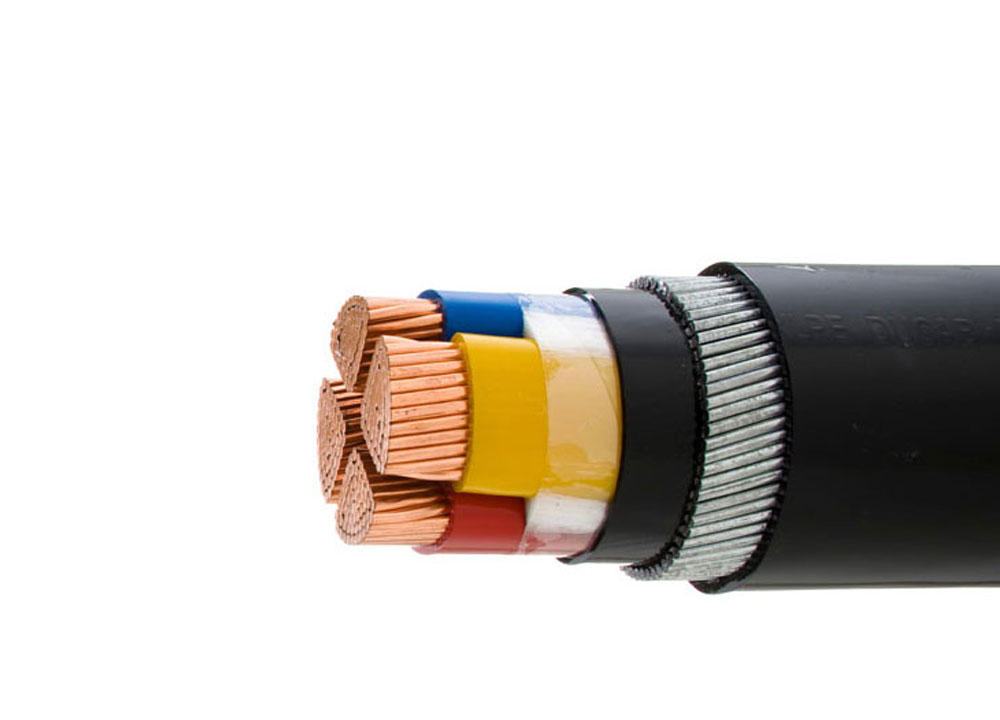 Blue Armored Cable : V swa armoured power cable electric